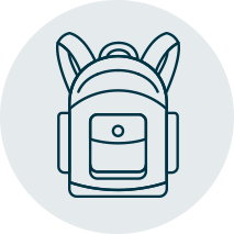 stuff a backpack icon